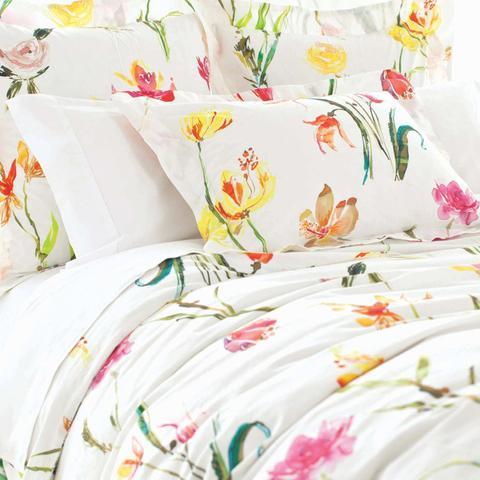 Watercolor Cotton Duvet Cover