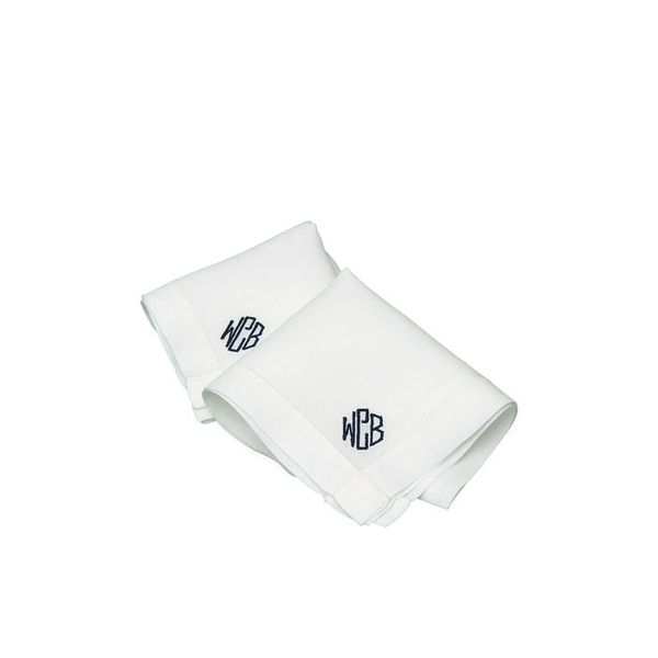 Leontine Linens Montgomery Handkerchief