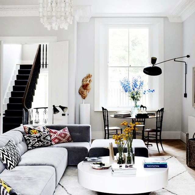 Tour a Stunningly Chic London Townhouse