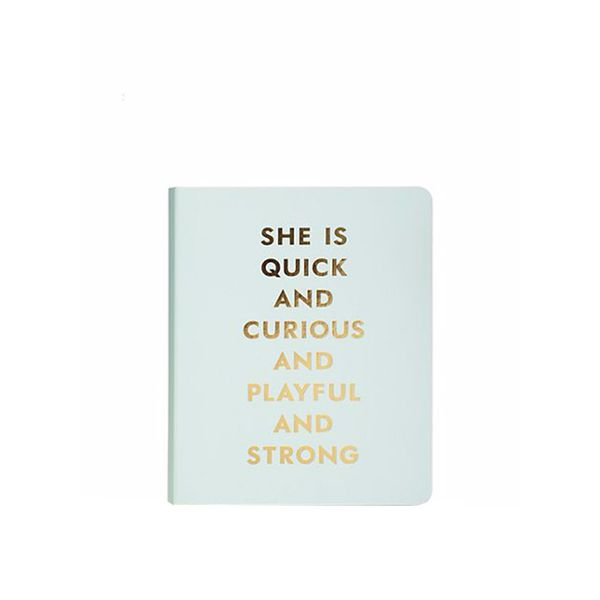 Kate Spade Quick and Curious Notebook