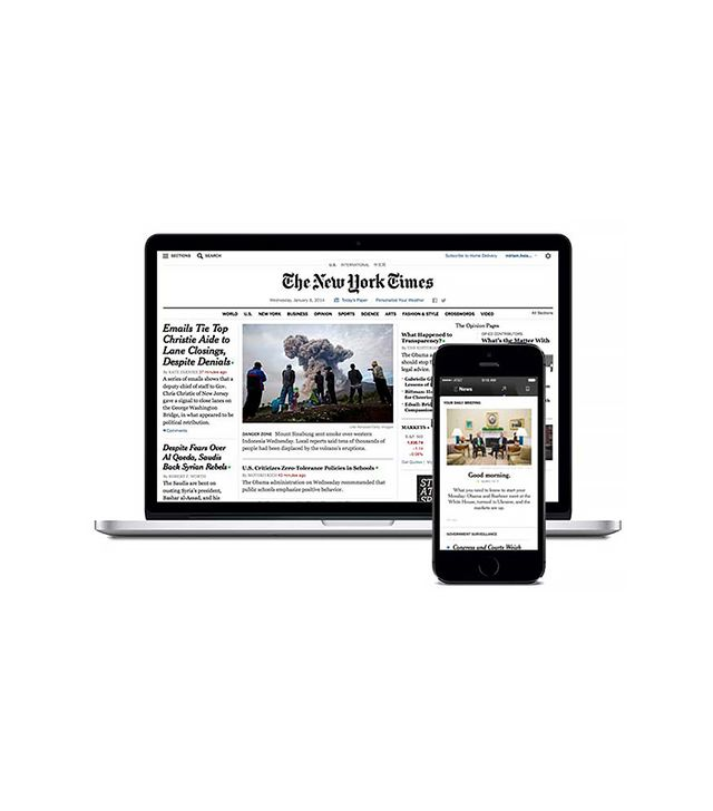 The New York Times NYTimes.com + Smartphone Apps Digital Subscription