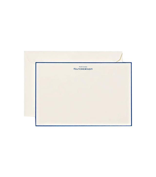 Crane Hand Bordered Noblesse Correspondence Cards