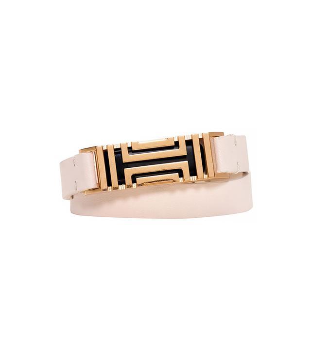 Tory Burch for Fitbit Fret Double-Wrap Bracelet