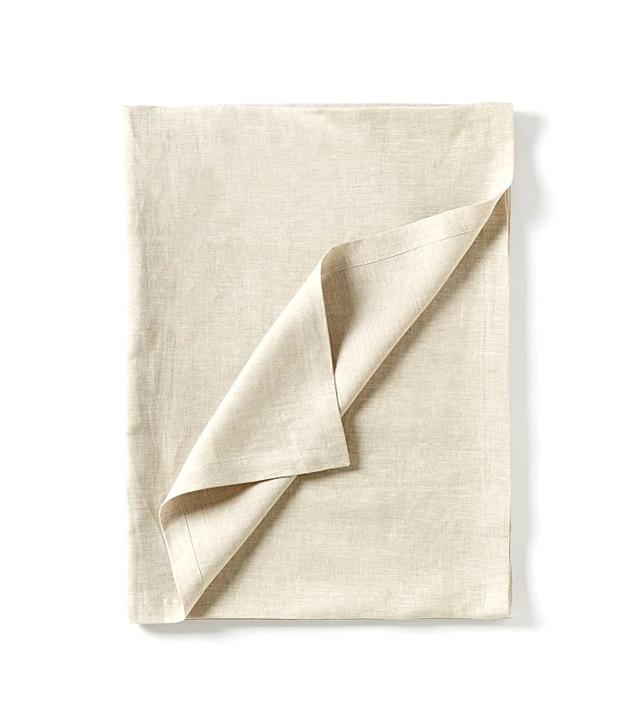 West Elm Belgian Linen Tablecloth