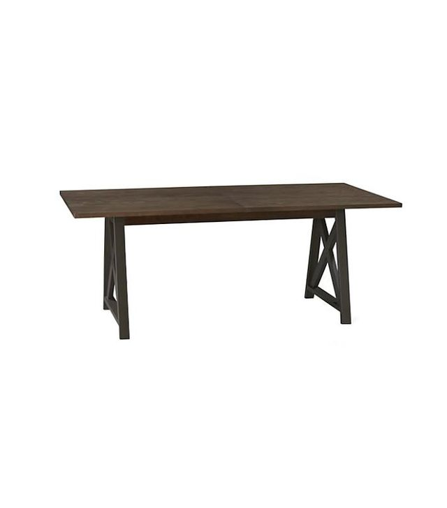 Crate & Barrel Metra Extension Dining Table