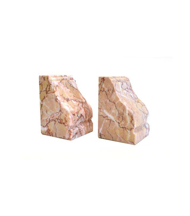 Etsy Vermarco Vintage Marble Bookends