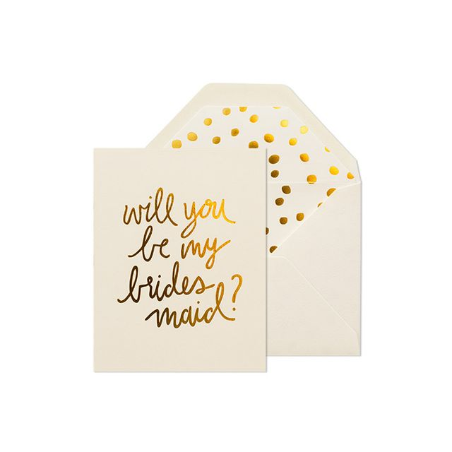 """The 7 Sweetest """"Be My Bridesmaid"""" Cards"""