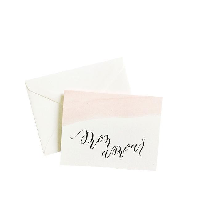 Alissa Bell Press Mon Amor Greeting Card