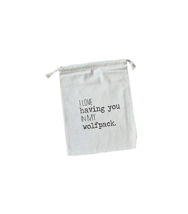 Etsy Wolfpack Favour Bag
