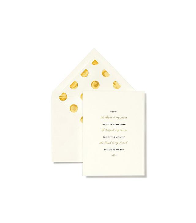 Kate Spade New York 'Hocus to My Pocus' Bridesmaid Note Cards