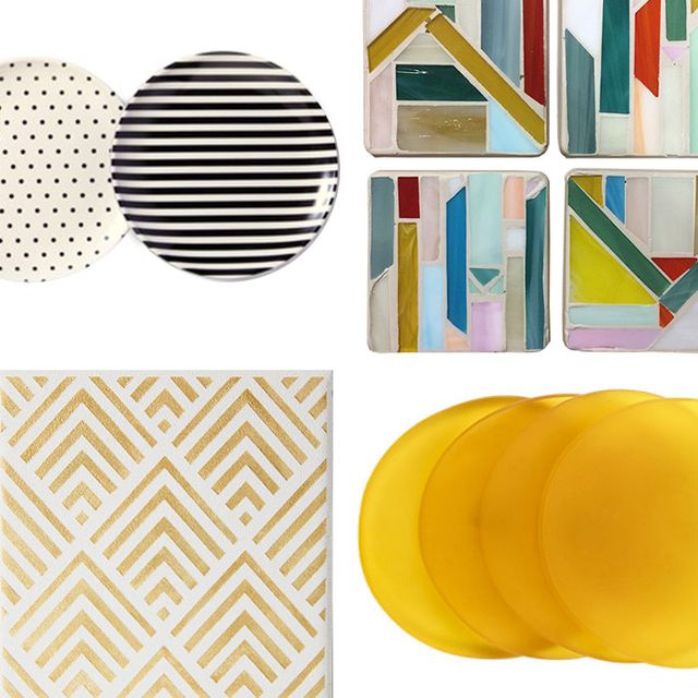 Cool Coaster Sets for Your Coffee Table