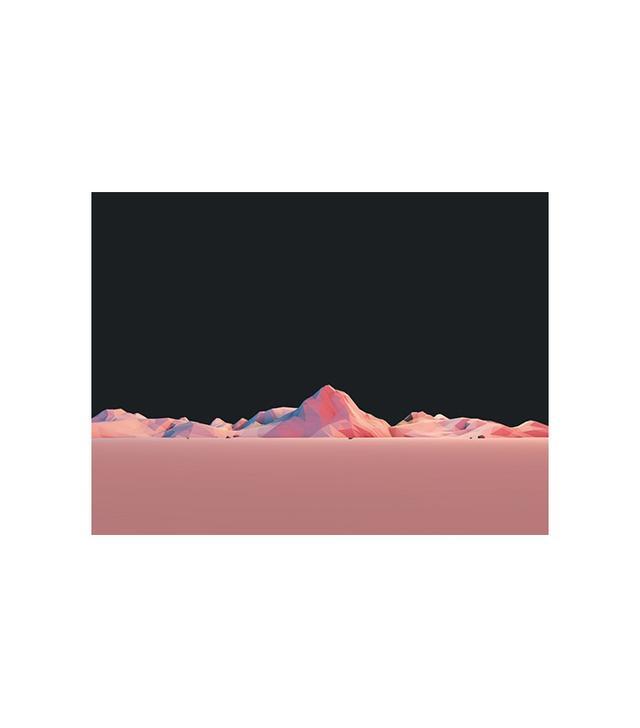 """""""Geometric Peaks"""" by Mark Kirkpatrick"""