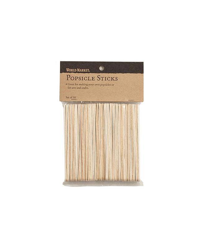 World Market Popsicle Sticks