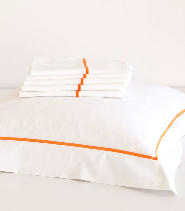 Zara Home Scallop-Trim Egyptian Bedding