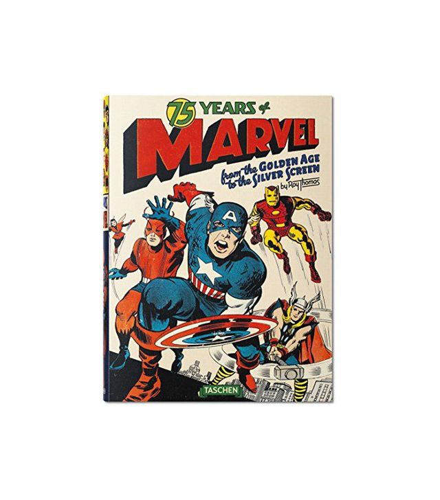 75 Years of Marvel Comics: From the Golden Age to the Silver Screen by Roy Thomas (Author,) Josh Baker (Editor)