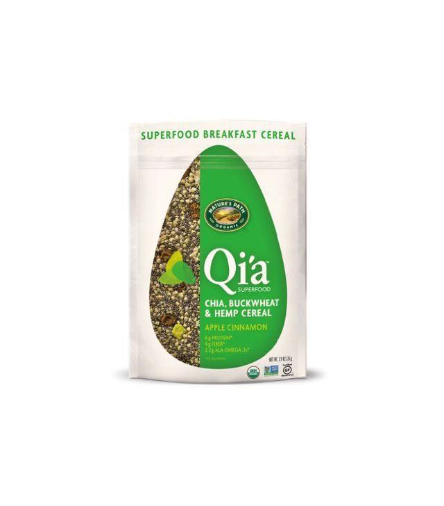 Nature's Path Qi'a Chia Buckwheat and Hemp Cereal, Apple Cinnamon