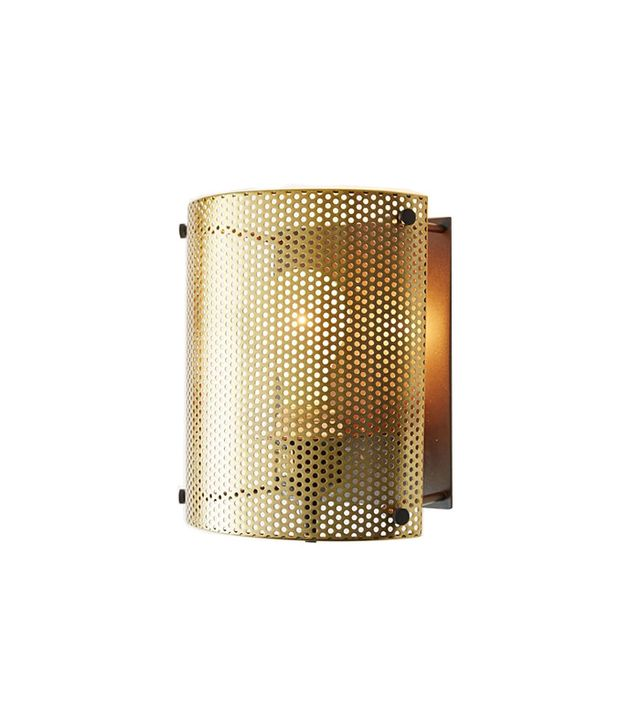 West Elm Perforated Metal Sconce