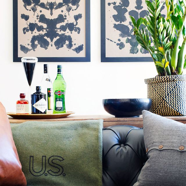 Before and After: Ronan Farrow's NYC Apartment