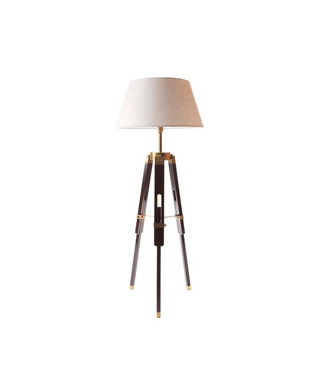 White on White Murray Hill Floor Lamp