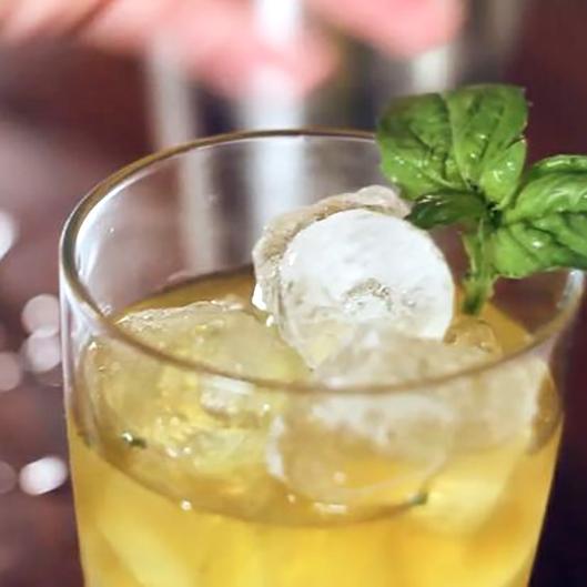 How to Make a Basil Agave Margarita
