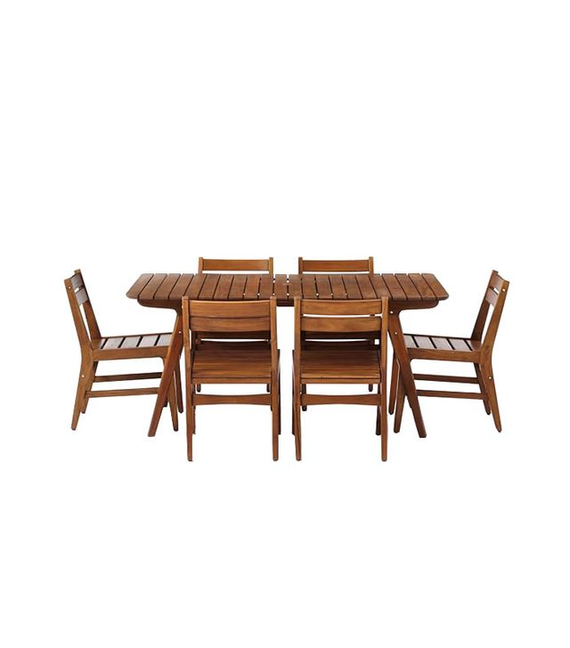 West Elm Midcentury Outdoor Dining Set