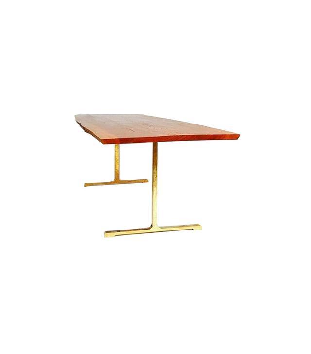 Organic Modernism Log T-Base Table