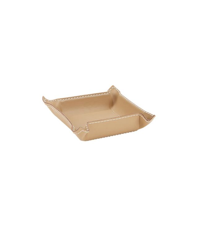 Arte & Cuoio Bendable Small Square Piombo Tray