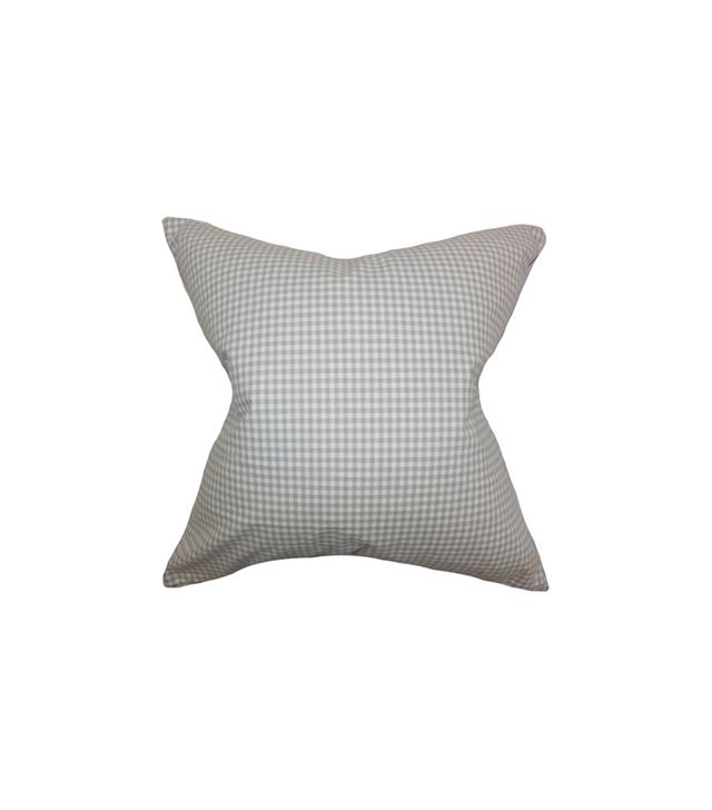 The Pillow Collection Xandy Plaid Pillow