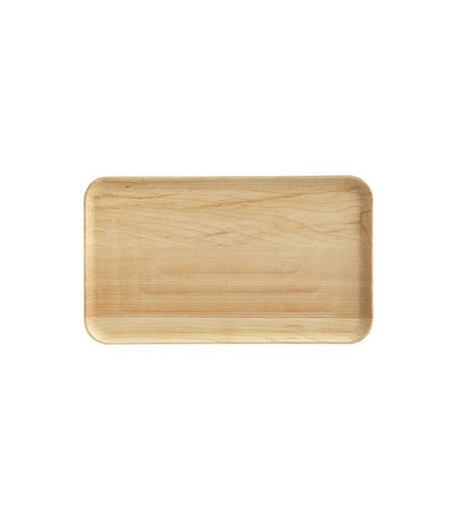 Crate & Barrel Maple Appetizer Plate