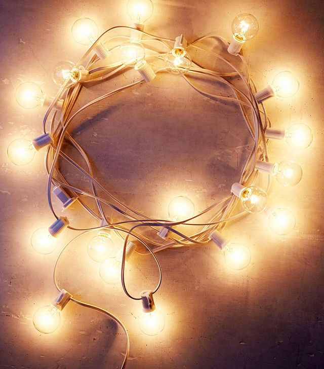 Urban Outfotters White Cord Globe String Lights