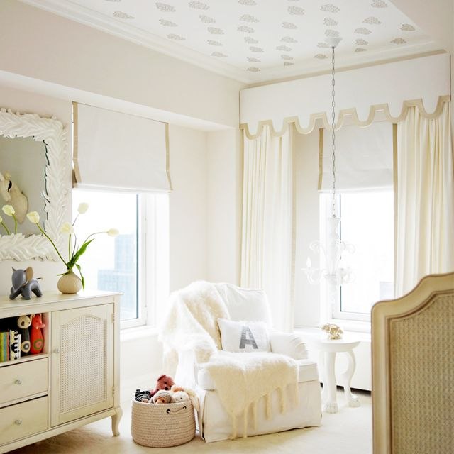 7 of the Most Gorgeous Wallpapered Ceilings