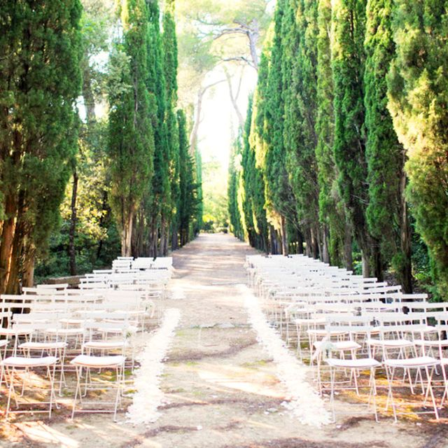 6 of the Most Stylish Outdoor Weddings We've Seen