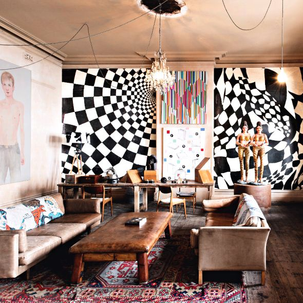 Tour the Incredible Melbourne Home of Artist David Bromley
