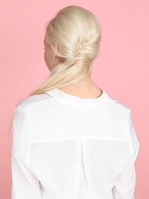 "Video Tutorial: The ""Faux Fishtail Ponytail"""