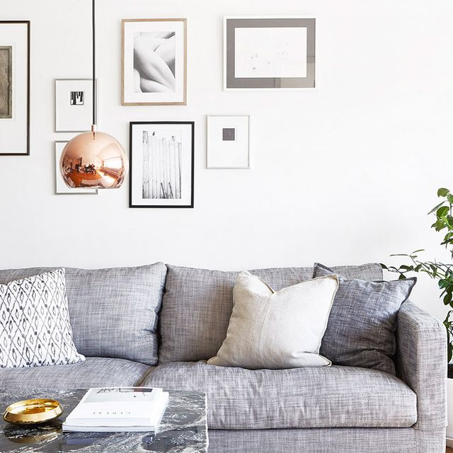 Inside an Earthy and Bright Stockholm Flat