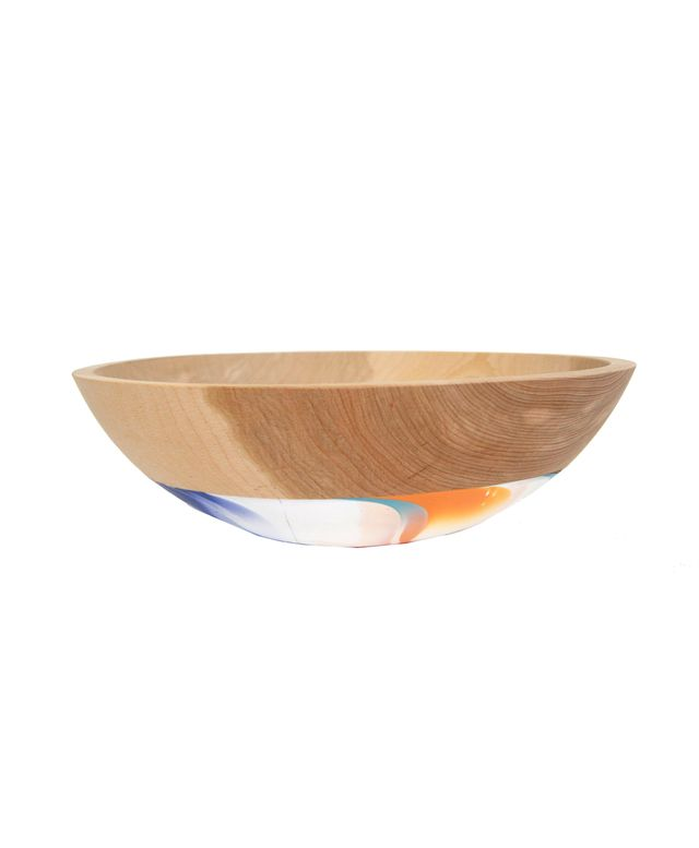 Wind and Willow Home Extra Large Wooden Serving Bowl