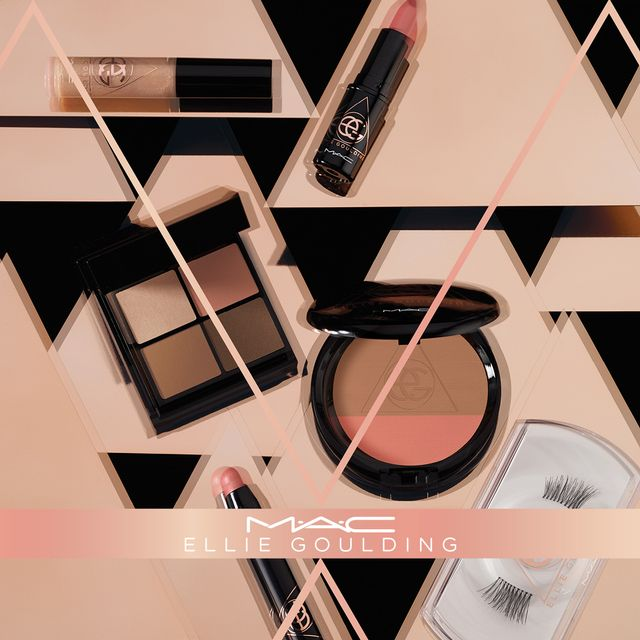 Ellie Goulding Has a New MAC Collab; Nude Lipstick Is Involved