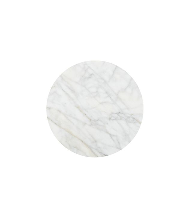 World Market White Marble Lazy Susan