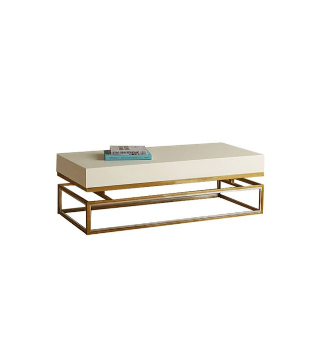 Tracey Boyd Lacquered Rectangular Coffee Table