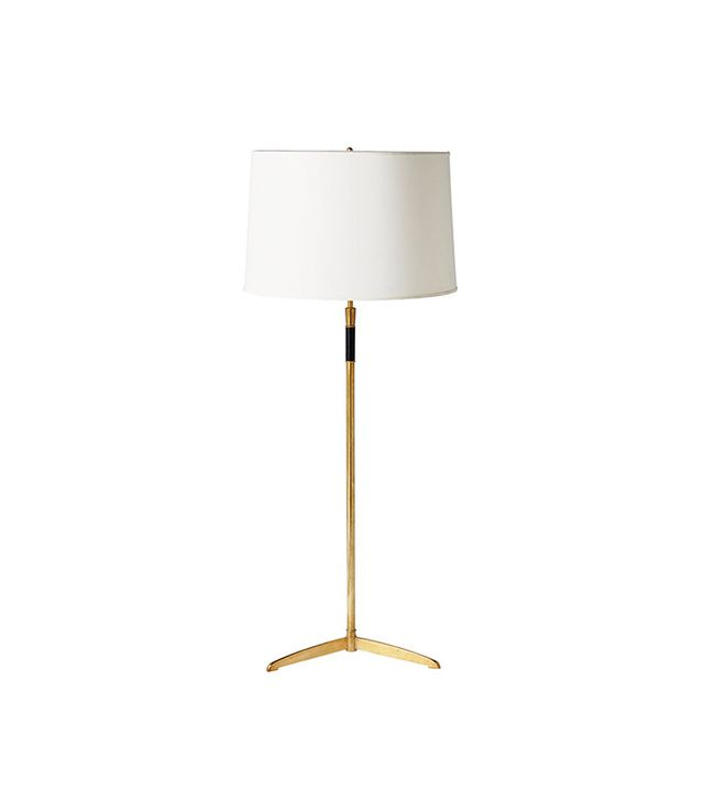 Serena & Lily Cole Brass Floor Lamp
