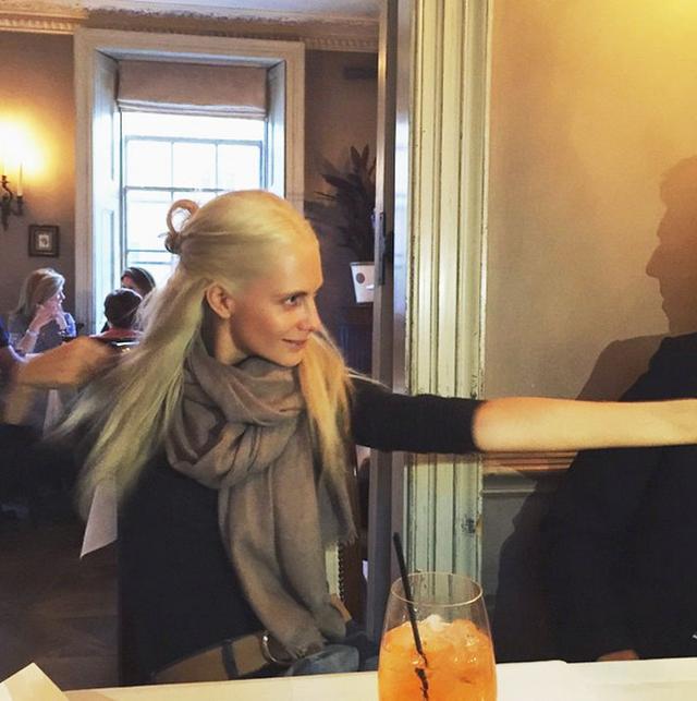Poppy Delevingne Goes Khaleesi Blond—See the Photo!