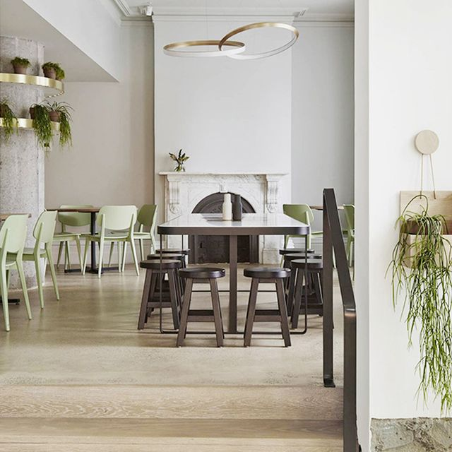 Visit Melbourne's Stunning Earthy-Meets-Modern Cafe