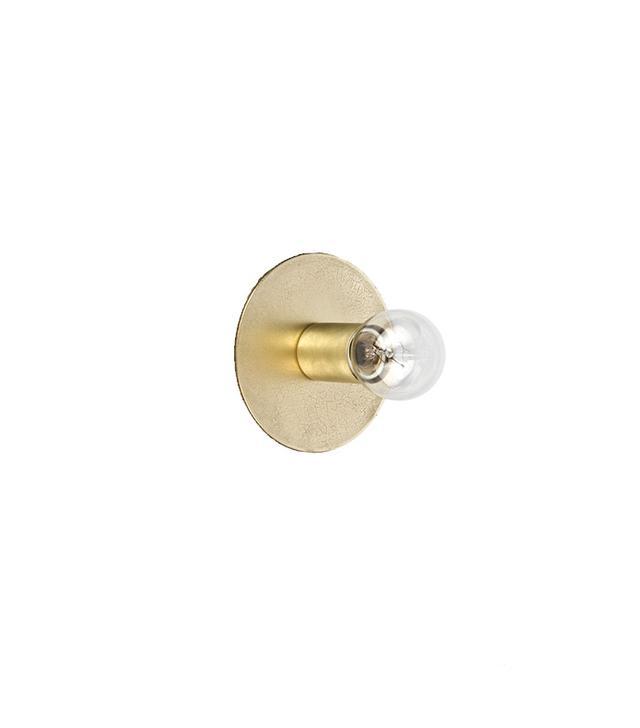 Allied Maker Brass Minimalist Flush Mount