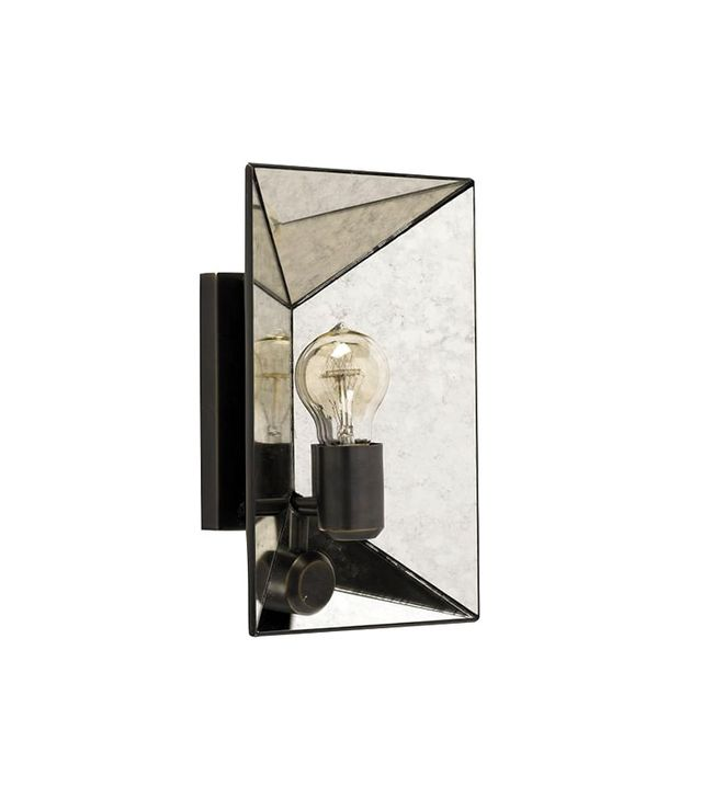 West Elm Faceted Mirror Sconce