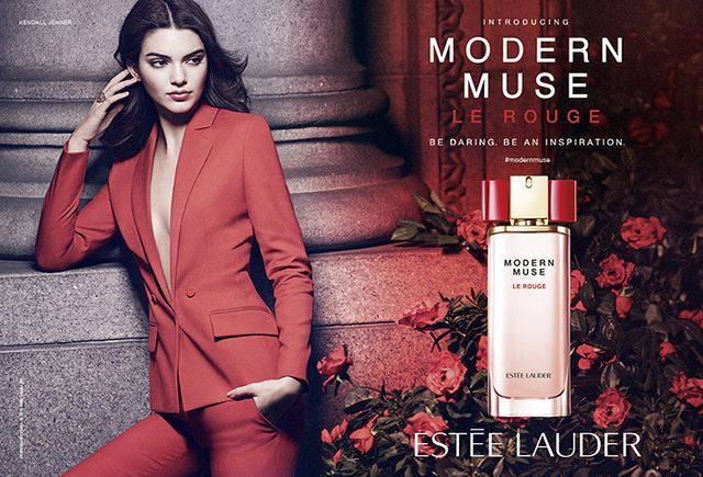 Kendall Jenner Is a Total Girl Boss in Her First Ad for Estée Lauder