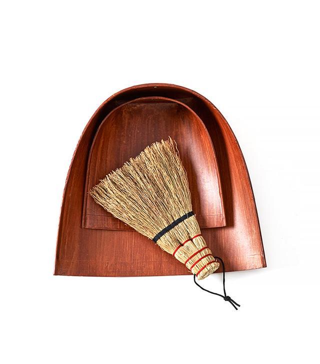 Sojirushi Edohoki Hand Broom and Harimi Dustpan