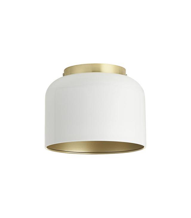 Studio 1a.m. Bell White Flush Mount Lamp