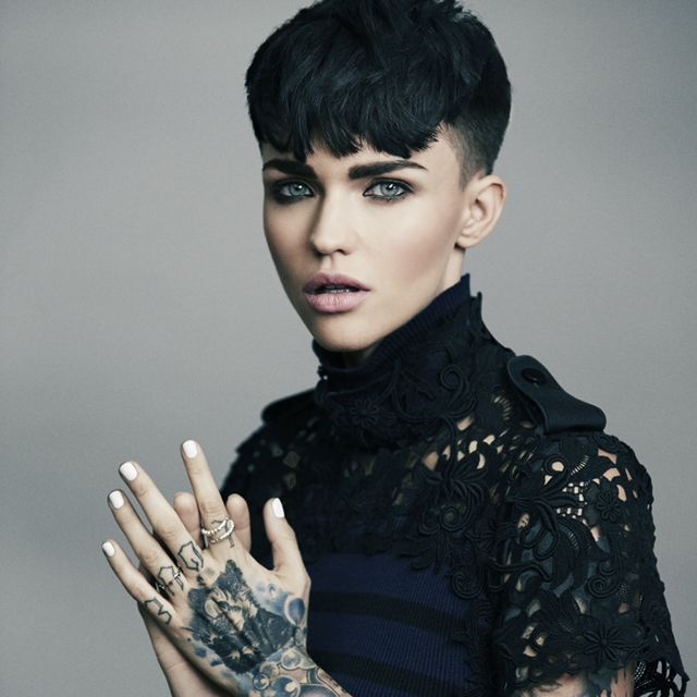 Meet Orange Is The New Black S Gorgeous New Inmate Ruby Rose