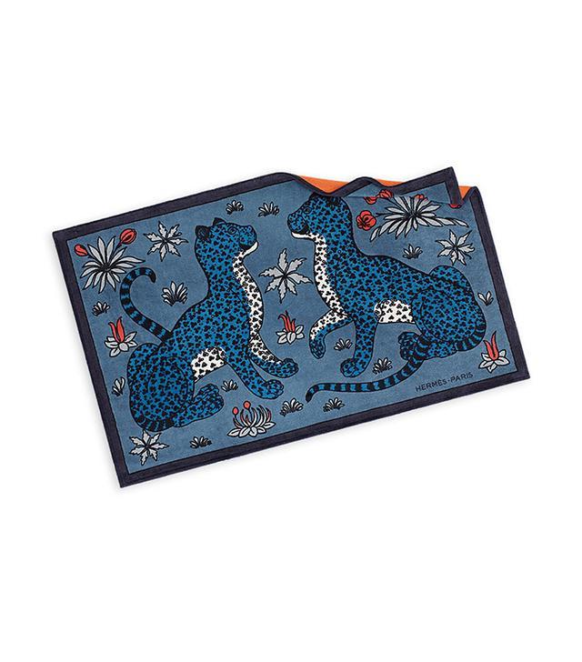 Hermès Leopards Printed Towel