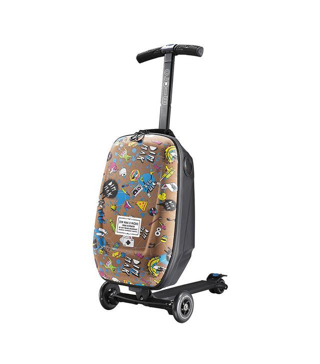 Steve Aoki Micro Scooter Luggage